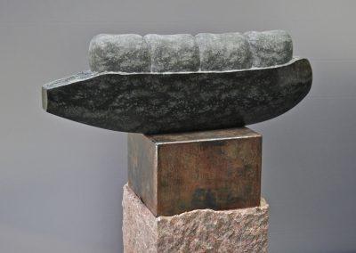 Boon-2015-diabas,cortenstaal,graniet-48 cm