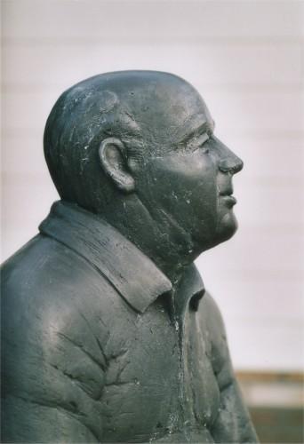 Piet Bakker-Scharmer-2003-brons