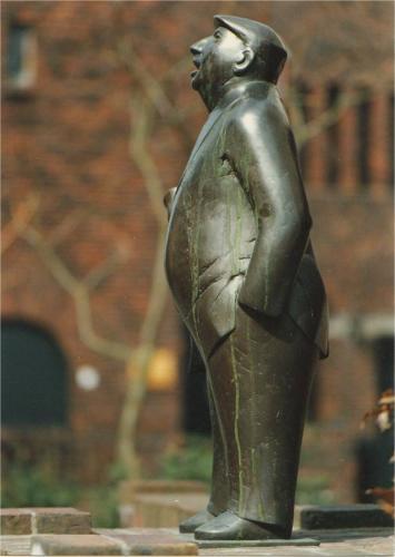 Stadsomroeper-1982-Appingedam-brons