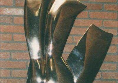 Torsrelief-1987-Bedum-brons-
