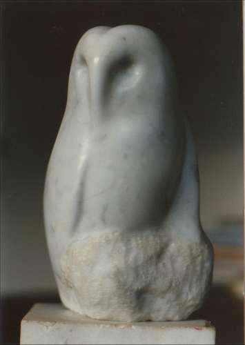Uil-1978-marmer-20x10x10 cm