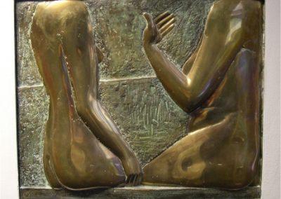 2vrouwen-1979-Gemeentehuis Slochteren-Brons