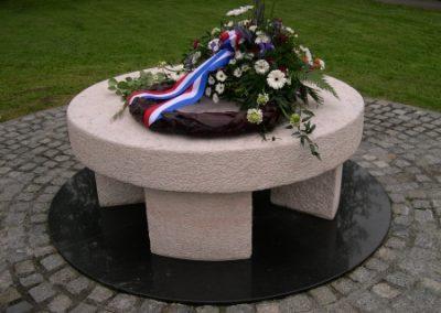 Close-up Joods monument
